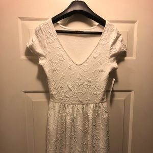 Perfect dress for rehearsal or bridal shower!